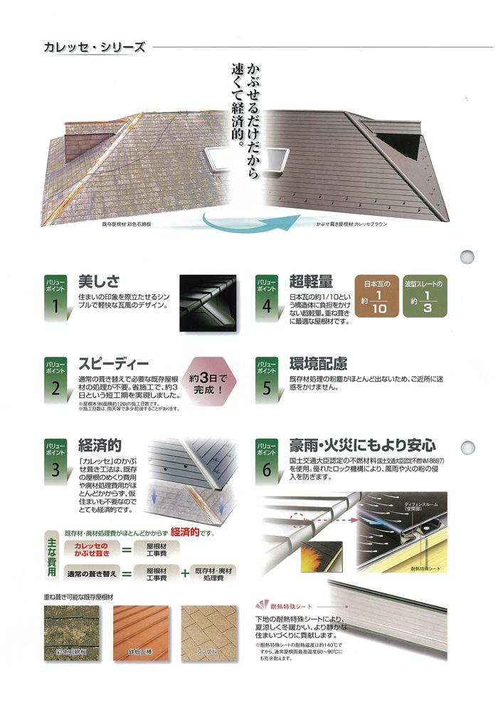 ガルバリウム屋根材(金属瓦)