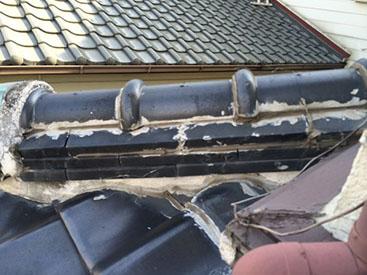 無理な補修の繰り返しによる雨漏り