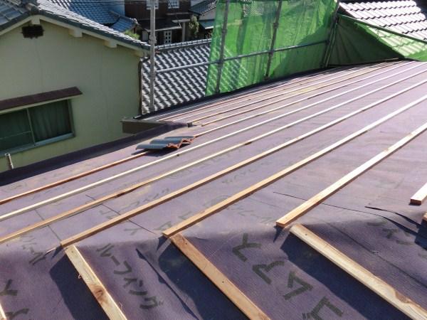 セラマウントへ屋根葺き替え工事