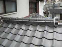 シルバー瓦屋根葺き直し工事