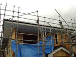 新築住宅屋根工事